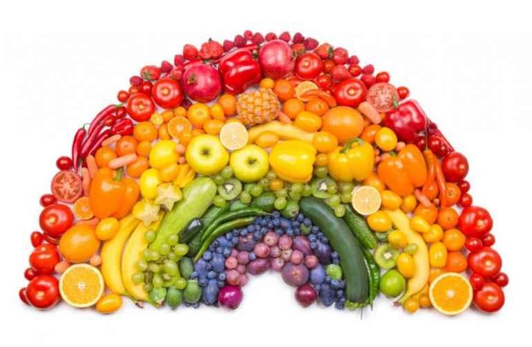 Худеем с помощью радужного питания с максимальной пользой для организма