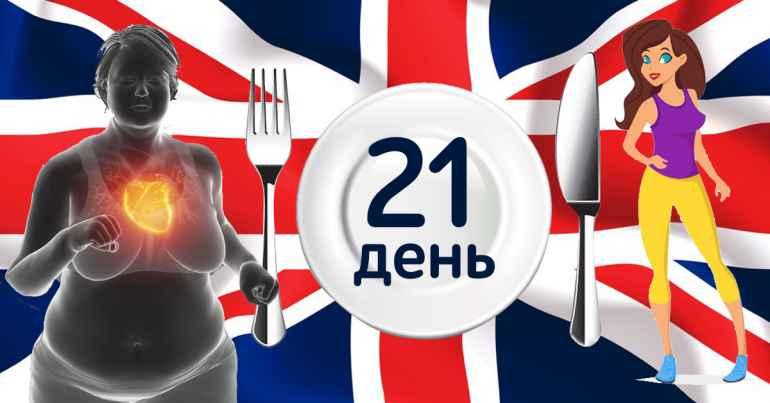 Кому подойдет английская диета: меню на каждый день