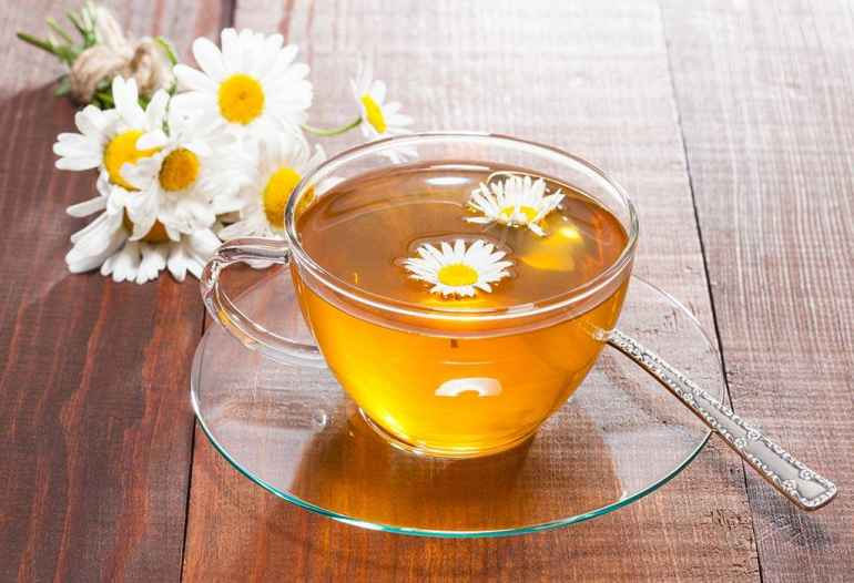 Польза чая из ромашки во время диеты
