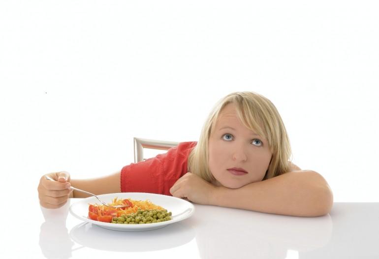 Что делать, если нет аппетита, но вес растет